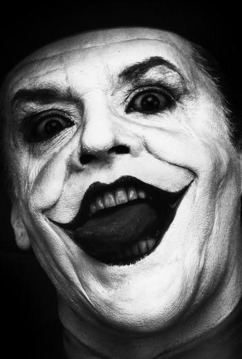 "Jack Nicholson As ""Joker""  Photos By Herb Ritts"