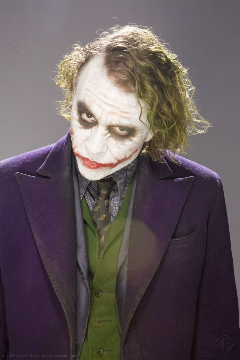 Heath Ledger Joker The Dark Knight Promotional Photoshoot