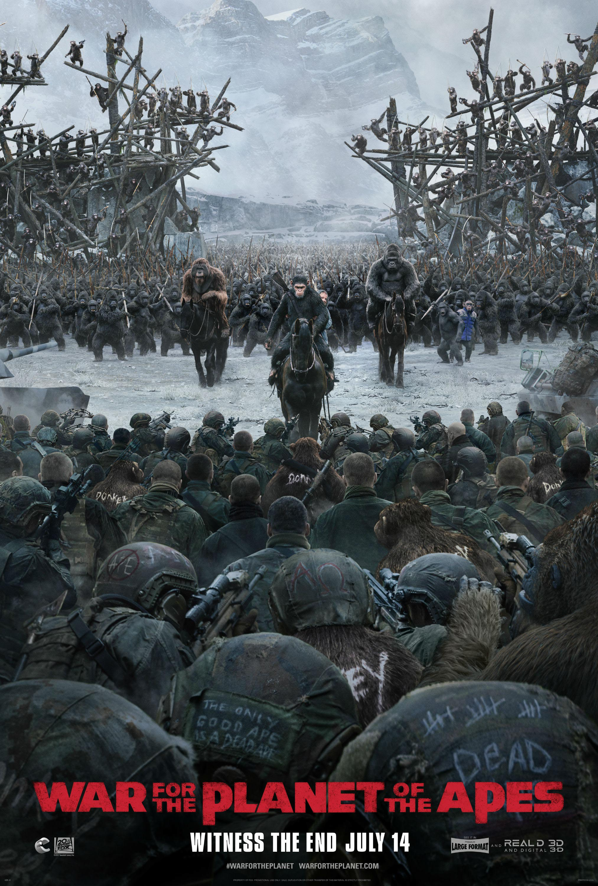 War for the Planet of the Apes Final Trailer & Key-Art ...