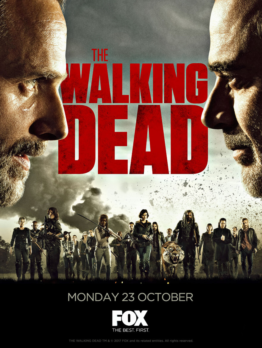 the walking dead season 8 trailer voices film tv podcast for cinephiles. Black Bedroom Furniture Sets. Home Design Ideas