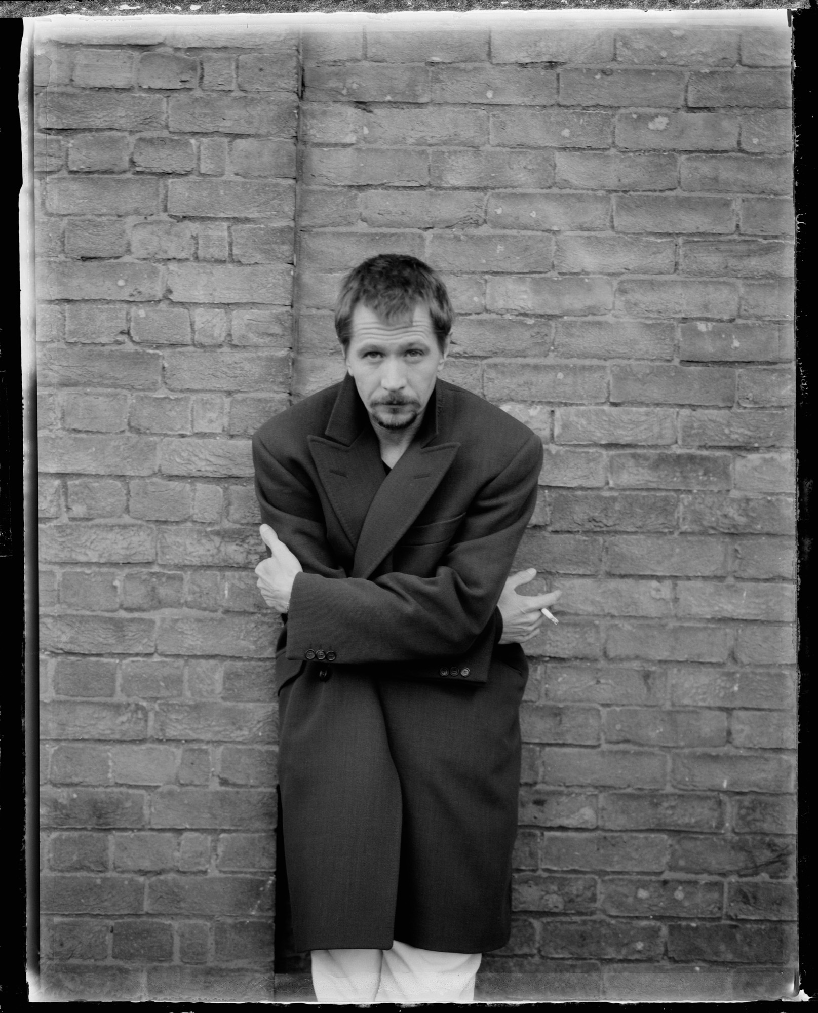 1997, France --- British Actor Gary Oldman --- Image by © Marcel Hartmann/Sygma/Corbis